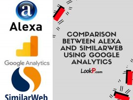 Comparison between Alexa and SimilarWeb using Google Analytics picture