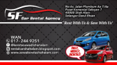 Sf Car Rental Agency - Kereta Sewa Shah Alam Picture