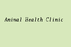 Animal Health Clinic Picture