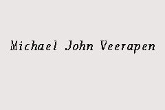 Michael John Veerapen business logo picture