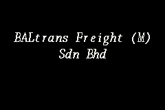 BALtrans Freight (M) Sdn Bhd Picture