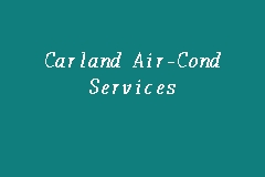 Carland Air-Cond Services Picture