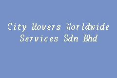 City Movers Worldwide Services Sdn Bhd business logo picture