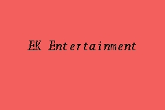 EK Entertainment business logo picture