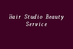 Hair Studio Beauty Service business logo picture