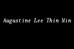 Augustine Lee Thin Min Picture