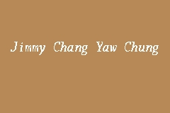 Jimmy Chang Yaw Chung Picture