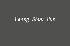 Leong Shuk Fun Picture