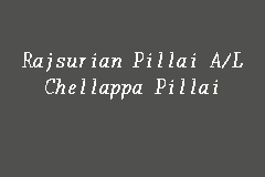 Rajsurian Pillai A/L Chellappa Pillai business logo picture