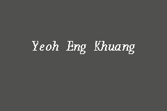 Yeoh Eng Khuang Picture