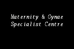 Maternity & Gynae Specialist Centre business logo picture