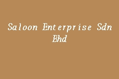 Saloon Enterprise Sdn Bhd business logo picture