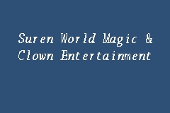 Suren World Magic & Clown Entertainment business logo picture