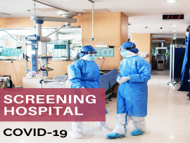List of COVID-19 Screening Hospital picture