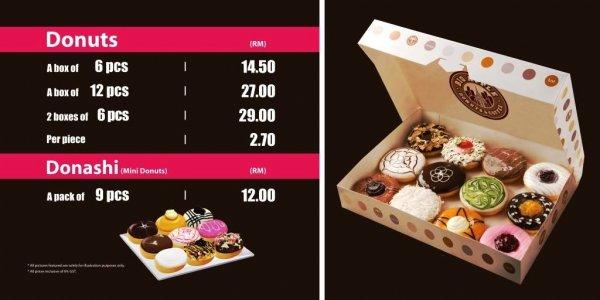 Big Apple Tesco Ipoh Donuts Coffee In Ipoh