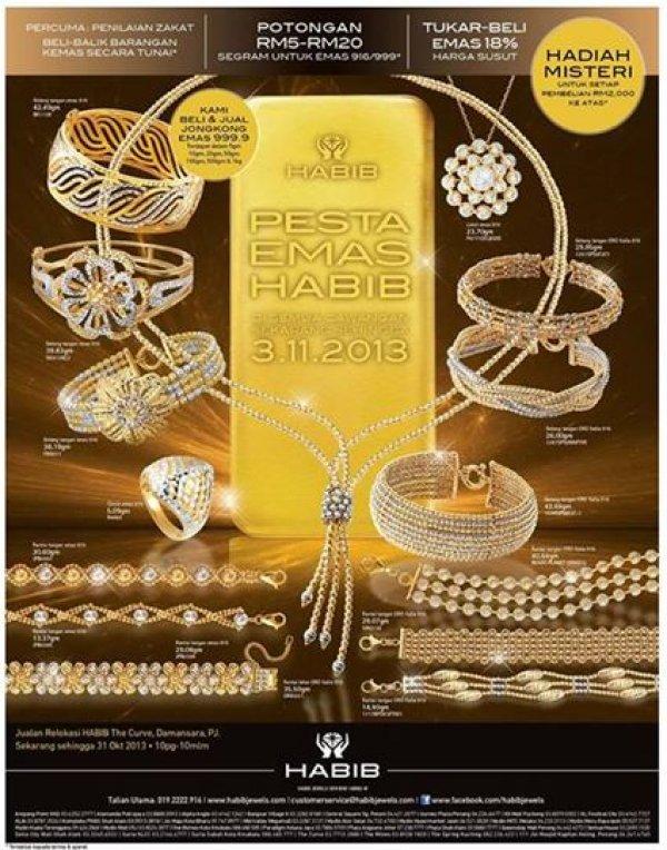 f6a3b6fd3 Habib Jewel Plaza Shah Alam, Jewellery Store in Shah Alam