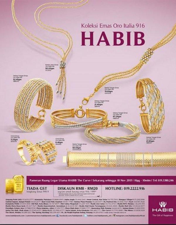 ec3fbcd50 Habib Jewel The Curve, Jewellery Store in Petaling Jaya