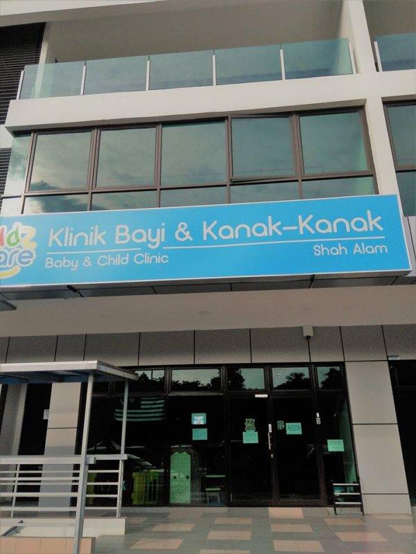 Kidzcare Baby And Child Clinic Shah Alam Klinik Pakar Kanak Kanak In Shah Alam