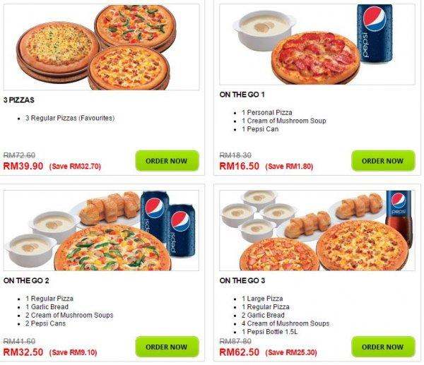 Pizza Hut Merlimau Restaurant In Merlimau