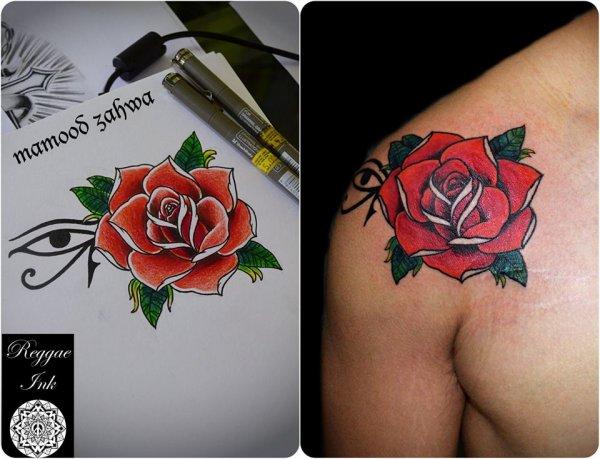 Reggae ink tattoo studio tattoo in petaling jaya for Dynamic black tattoo ink review