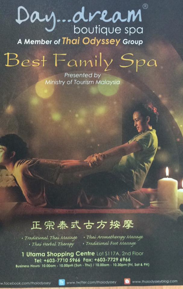 Thai Odyssey AEON Bukit Indah Shopping Centre, Massage Centre in