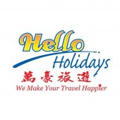 Hello Holidays business logo picture