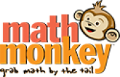 Math Monkey business logo picture