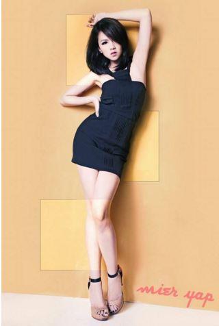 Mier Yap Female Model In Kuala Lumpur