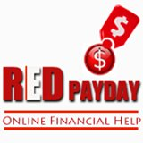 Red Payday Loans business logo picture