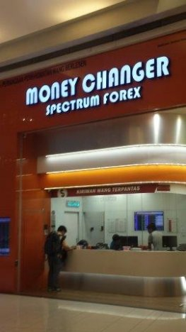 Spectrum forex money changer