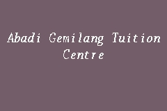 Abadi Gemilang Tuition Centre business logo picture