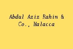 Abdul Aziz Rahim Co Malacca Law Firm In Melaka