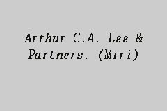 Arthur C.A. Lee & Partners. (Miri) business logo picture