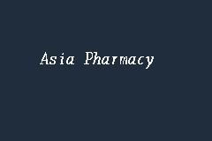 asia pharmacy farmasi in sandakan
