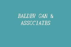 BALDEV GAN & ASSOCIATES business logo picture