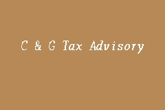 C & G Tax Advisory business logo picture