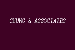 CHUNG & ASSOCIATES business logo picture