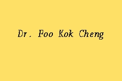 Dr. Foo Kok Cheng business logo picture