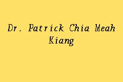 Dr. Patrick Chia Meah Kiang business logo picture