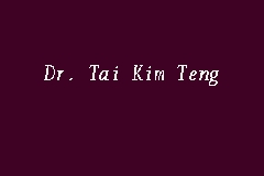 Dr. Tai Kim Teng business logo picture