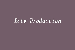 Ectv Production business logo picture