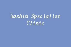 Hashim Specialist Clinic business logo picture