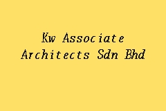 Kw Associate Architects Sdn Bhd business logo picture
