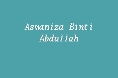 Asmaniza Binti Abdullah business logo picture