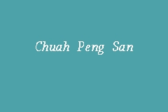 Chuah Peng San business logo picture