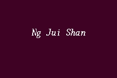 Ng Jui Shan Advocate And Solicitor In Church Street