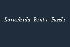 Norashida Binti Pandi Advocate And Solicitor In Shah Alam