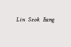 Lim Seok Eang business logo picture
