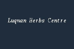 Luqman Herbs Centre business logo picture
