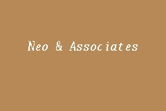 Neo & Associates business logo picture